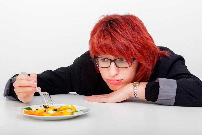 Anorexia nerviosa compulsiva