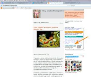 Anuncis blog pro Ana